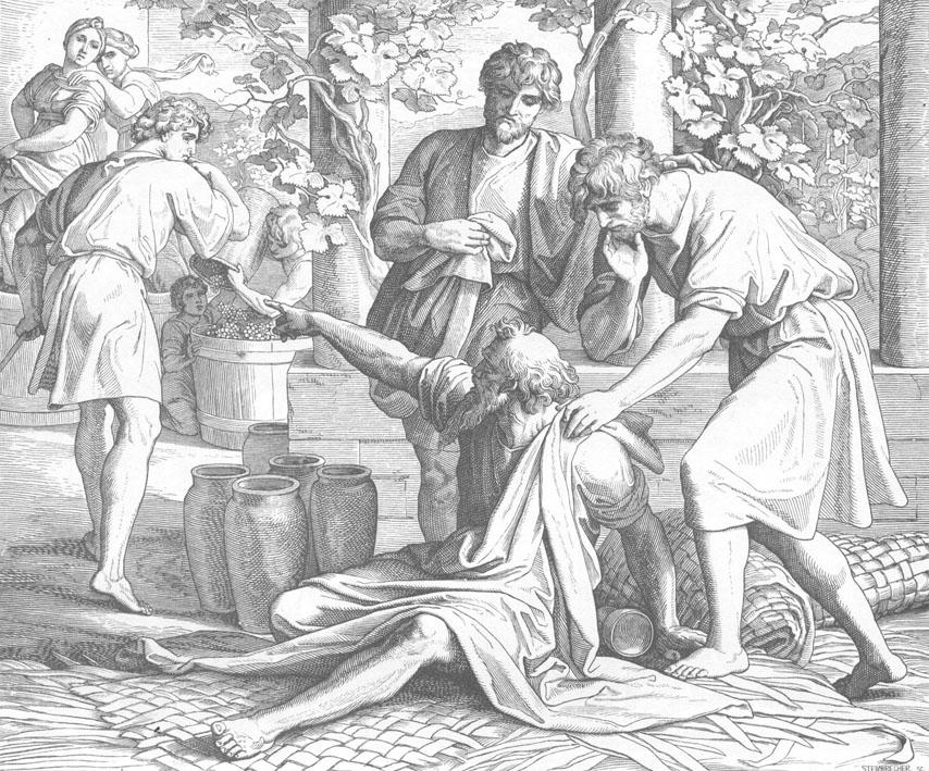 """Ной проклинает Хама "", Шнор"