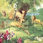 Творение Адама и Евы, животных, птиц и растений