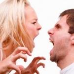 Гнев, вражда, ссора, зависть